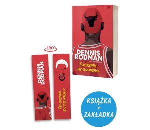 Okładka książki SQN Originals: Dennis Rodman. Powinienem być już martwy (Wydanie II) + zakładka gratis w księgarni sportowej Lab