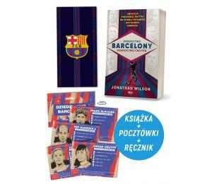 Dziedzictwo Barcelony, dziedzictwo Cruyffa (pocztówki gratis) + Ręcznik FC Barcelona