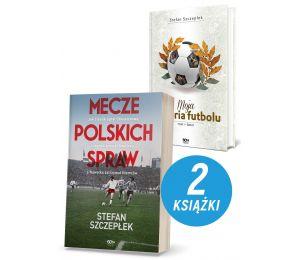 Pakiet: Mecze polskich spraw + Moja historia futbolu. T. 1. Świat (TW)
