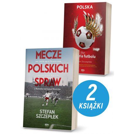 Pakiet: Mecze polskich spraw + Moja historia futbolu. T. 2. Polska (MK)