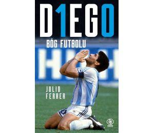 Okładka książki Diego. Bóg futbolu w księgarni sportowej Labotiga