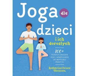 Okładka książki Joga dla dzieci i ich dorosłych w księgarni sportowej Labotiga