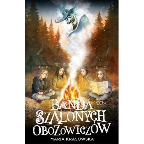 Okładka książki Banda Szalonych Obozowiczów w księgarni Labotiga