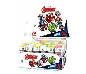 Bańki mydlane 60ml Avengers (36szt)