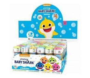 Bańki mydlane 60ml Baby Shark (36szt)