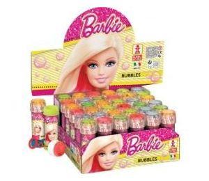 Bańki mydlane 60ml Barbie (36szt)