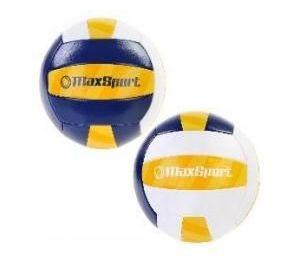 Piłka siatkowa Max Sport niebiesko-biało-żółta