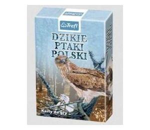 Karty - Przyroda Dzikie ptaki Polski TREFL