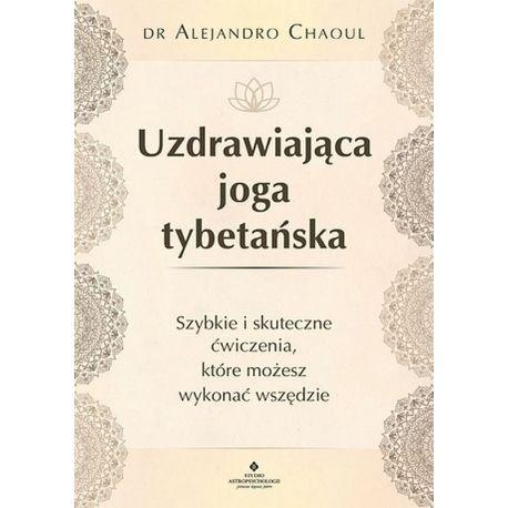 Okładka książki Uzdrawiająca joga tybetańska w księgarni sportowej Labotiga
