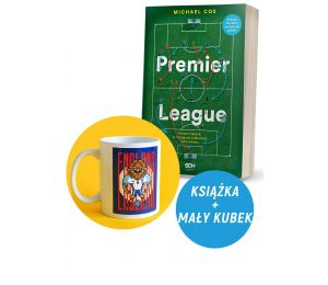 Zdjęcie pakietu Premier League. Historia taktyki w najlepszej piłkarskiej lidze świata + Kubek 330 ml Lew Anglia kolekcja Jan Ka