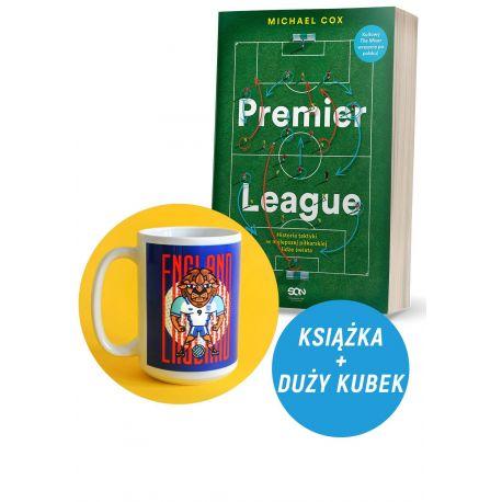 Zdjęcie pakietu Premier League. Historia taktyki w najlepszej piłkarskiej lidze świata + Kubek duży 430 ml Lew Anglia Jan Kallwe