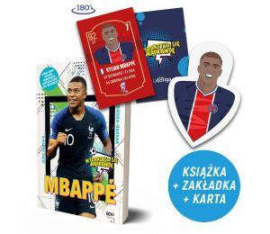 Zdjęcie pakietu Mbappé. Nowy książę futbolu (zakładka gratis) + Karta do gry Mbappe w księgarni Labotiga