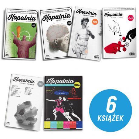 Zdjęcie pakietu SQN Originals: Kopalnia. Sztuka futbolu - wszystkie tomy (1-6) w księgarni Labotiga