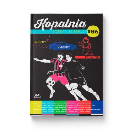 Okładka książki SQN Originals: Kopalnia. Sztuka futbolu 6 w księgarni sportowej Labotiga