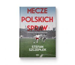 Okładka książki Mecze polskich spraw w księgarni sportowej Labotiga