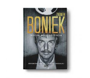 Okładka książki Zbigniew Boniek. Mecze mojego życia w księgarni sportowej Labotiga.pl