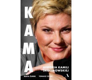 Okładka książki Kama. Historia Kamili Skolimowskiej w księgarni sportowej labotiga
