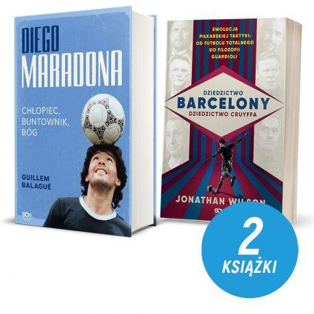Diego Maradona. Chłopiec, buntownik, bóg + Dziedzictwo Barcelony (pocztówki gtaris)