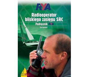 Okładka książki Radiooperator bliskiego zasięgu SRC. Podręcznik RYA w księgarni Labotiga