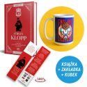 SQN Originals: Jurgen Klopp + Kubek lew 430ml (zakładka gratis)