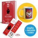 SQN Originals: Jurgen Klopp + Kubek lew 330ml (zakładka gratis)