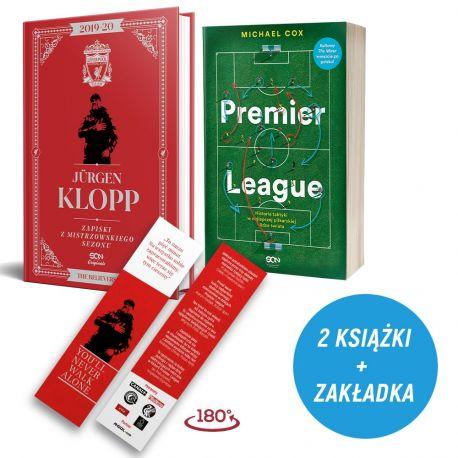 Pakiet: Jürgen Klopp. Zapiski z mistrzowskiego sezonu (zakładka gratis) + Premier League