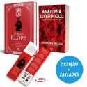 Pakiet: Jurgen Klopp (zakładka gratis) + Anatomia Liverpoolu