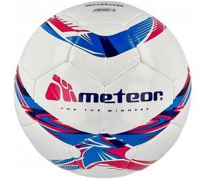 Piłka nożna Meteor 360 Shiny biała MS