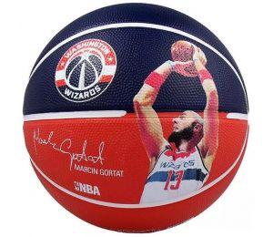 Piłka do koszykówki Spalding NBA Player Marcin Gortat