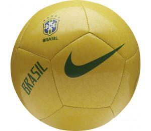 Piłka nożna Nike Brasil CBF Skills żółta SC3555 749