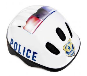 Kask rowerowy Spokey Police Jr 927857