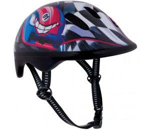 Kask rowerowy Spokey Biker 6 Racing Car Jr 940660