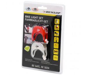 Zestaw Lampek Rowerowych Duracell Front+Rear 2 Led 41792