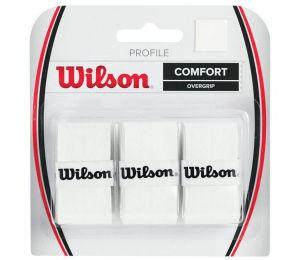 Owijka Wilson Profile Overgrip 3szt WRZ4025WH