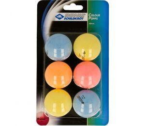 Piłeczki do tenisa stołowego DONIC Color Popps 6 szt
