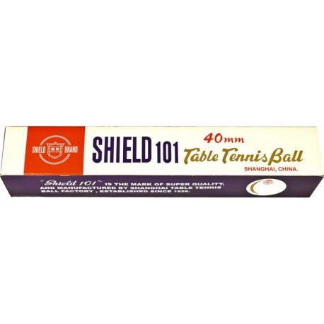 Piłeczki do tenisa stołowego Shield 6szt pomarańczowe