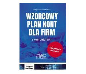 Wzorcowy plan kont dla firm z komentarzem