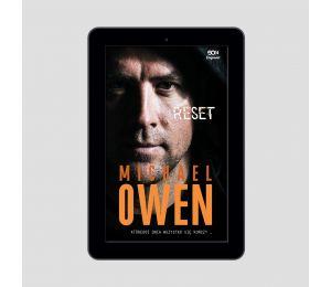 Okładka e-booka SQN Originals: Michael Owen. Reset. Któregoś dnia wszystko się kończy w księgarni Labotiga
