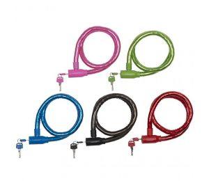 Zapięcie rowerowe Dunlop cable lock D18mm 80 cm ST 5ass 63749