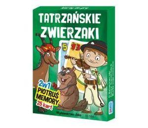 Karty Piotruś/Memory. Tatrzańskie Zwierzaki