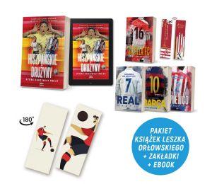 Zdjęcie pakietu Hiszpańskie drużyny + e-book i zakładka gratis + Sevilla FC + Barca + Real Madryt + Atletico Madryt