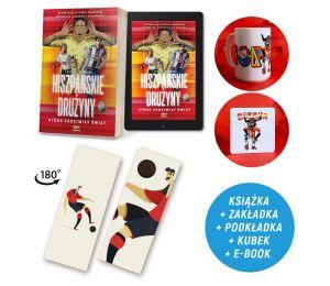Zdjęcie pakietu Hiszpańskie drużyny, które zadziwiły świat (e-book i zakładka gratis) + podkładka + kubek 430 ml