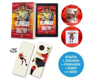Zdjęcie pakietu Hiszpańskie drużyny, które zadziwiły świat (e-book i zakładka gratis) + podkładka + kubek 330 ml