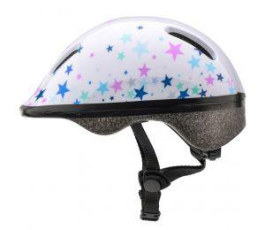 Kask rowerowy Meteor KS06 Stars roz XS 44-48cm Jr 24806