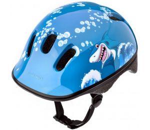 Kask rowerowy Meteor KS06 Baby Shark roz XS 44-48cm Jr 24828