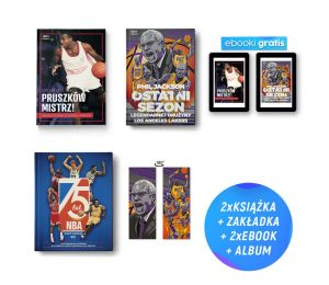 Pakiet Pruszków mistrz! (e-book gratis) + Phil Jackson. Ostatni sezon (e-book i zakładka gratis) + 75 lat NBA w Labotiga