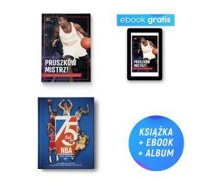 Pakiet SQN Originals: Pruszków mistrz! Szalony basket przełomu wieków (e-book gratis) + 75 lat NBA w Labotiga