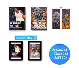 Pakiet: Pruszków mistrz! (e-book gratis) + Phil Jackson. Ostatni sezon (e-book i zakładka gratis) w księgarnie Labotiga
