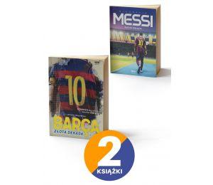 Pakiet: Barca. Złota dekada + Messi. Biografia TW