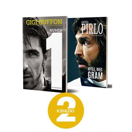 Pirlo. Myślę, więc gram (wyd. 2) + Gigi Buffon (wyd. 2) Miękka oprawa